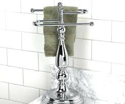 countertop towel stand chrome bathroom counter towel holder medium size of cheerful her st and hand