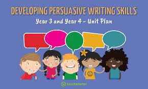 developing persuasive writing skills