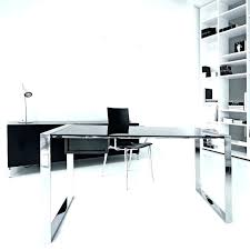 home office glass desks. Desk Glass Cover Home Office Desks For In A Cupboard Ideas Contemporary L Shaped Ikea