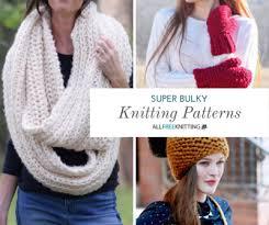 Bulky Yarn Knitting Patterns