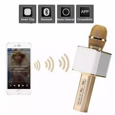 Mic Hát Karaoke Trên Điện Thoại Micro Karaoke Cầm Tay Kiêm Loa Bluetooth  Micro Mini Hát Karaoke Trên Điện Thoại Mua Micro Karaoke Micro Bluetooth  Không Dây Micro Karaoke Sd 08 Cao