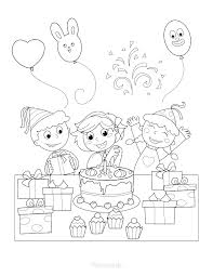 Have you been wondering teach kids to colour within lines? 55 Best Happy Birthday Coloring Pages Free Printable Pdfs
