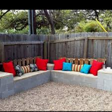 cinder block furniture. Exellent Furniture Photo 7 Of 42 Best Cinder Blocks Images On Pinterest Throughout  Block Furniture Backyard Superb With
