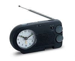 am fm radio with alarm clock