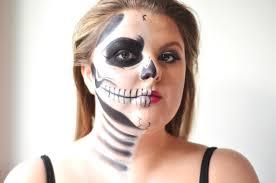 makeup tutorial half skull half glam dsc 1247 edit