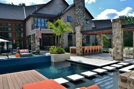 Modern Backyard Design Property Cool Decorating