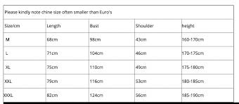 Chinese To American Size Chart Find Cheap Polo Shirts In Aliexpress