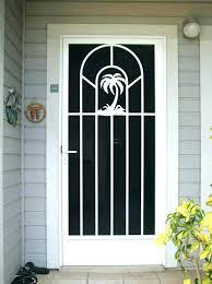 front screen door doors fly glass shower replacement retractable gold coast scr