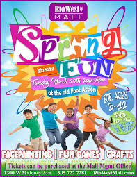 Spring Event Flyer Spring Event Flyer Rio West Mall Events