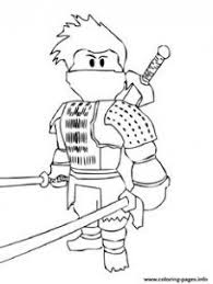 Printable Roblox Minecraft Enderman Coloring Page For At Just