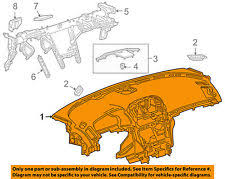 buick regal dash parts buick gm oem 11 13 regal instrument panel dash 22890634 fits buick regal