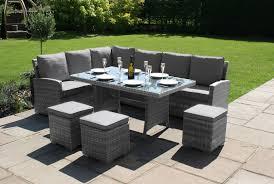 garage glamorous rattan corner sofa garden furniture