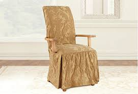 chair slipcovers with arms. Interesting With Armed Dining Chair Slipcovers Sofa Amp Armchair Room Regarding For Chairs  With Arms Decor 0