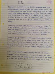 th class knocktemple national school in creative writing the children in mr murray s class wrote essays inspired by the events of 9 11