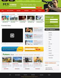 website template video css newsletter templates for video sharing sites