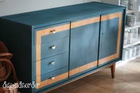 painted mid century furnitureChalk Paint and Mid Century Modern  design disorder