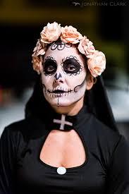 dia de los muertos day of the dead san francisco face paint skull photo jonathan clark nun woman