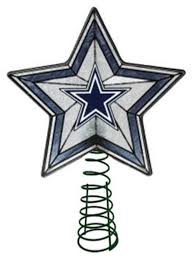 Amazon.com: Glass Star Treetopper - Dallas Cowboys: Sports & Outdoors
