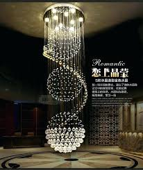 double floating crystal ball chandelier large pendant light crystal ball chandelier lighting pendant
