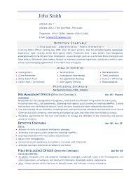 Resume Samples In Word Resume In Word Template 9
