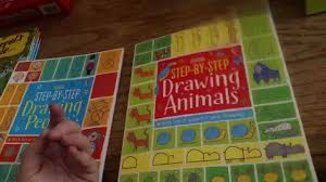 step by step drawing people step by step drawing s usborne books more you