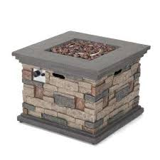 chesney 32 in x 24 in stone square outdoor gas fire pit