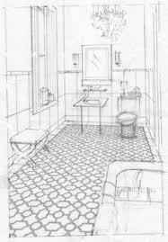 bathroom interior design sketches. Rough Bathroom Sketch · Interior Design Sketches 6