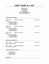 Resume Copy And Paste Resume Templates New Template Professional