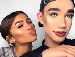 Charles will represent the brand alongside his instagram account, however, is where james charles debuts new makeup looks on a much more regular basis. Zendaya And James Charles 5 Minute Mermaid Eye Tutorial Thefashionspot