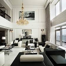 decorating ideas for living rooms with high ceilings. Delighful Rooms Interesting High Ceiling Living Room Designs And Black White Rooms  Roof Design To Decorating Ideas For With Ceilings A