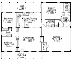 country style house plan 3 beds 200 baths 1492 sq ft