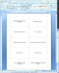 Image Titled Create Flash Cards In Step 2 Card Template Excel