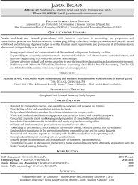 Staff Accountant Resume Examples Samples - Template