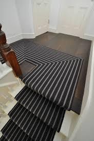 bonanza black and white striped runner rug designs
