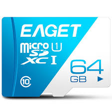<b>EAGET T1</b> High Speed 64GB Class 10 Micro <b>SD Card</b> Micro SD TF ...