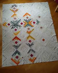 7309 best Fresh Modern quilts images on Pinterest   Jellyroll ... & And also this quilt top is meawhile fully sewn. Soon I'll have three quilts  to baste. Not my favorite part of quilt making . But first I have to come  up ... Adamdwight.com