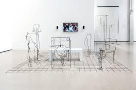 contemporary art furniture. Installation View Of Neil Beloufa At \ Contemporary Art Furniture