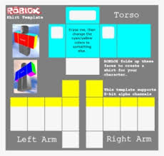 Roblox Shirt Layout Roblox Shirt Template Png Images Png Cliparts Free