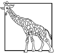 Giraffe Kleurplaat Jouwkleurplaten