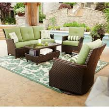 Member s Mark Carnaby Deep Seating 4 Piece Set with Premium