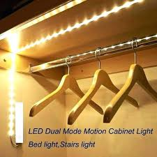 closet light fixtures pull chain led closet ght fixture battery motion sensor night operated ghting strip