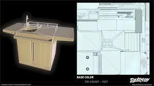 ArtStation - Dekogon - Modern Kitchen Assets, Fernando Quinn
