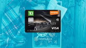review td aeroplan visa infinite credit card
