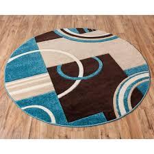 home design unique geometric area rugs geometric area rugs lovely geometric area rugs lovely echo shapes circles blue brown modern geometric