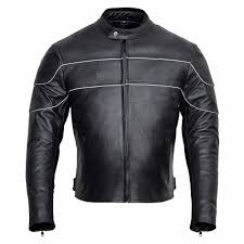 bronx mens classic style leather motorcycle jacket