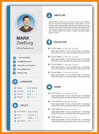 Word Template Cv Gratis Cv Template Word 5 Night Club Nyc Guide