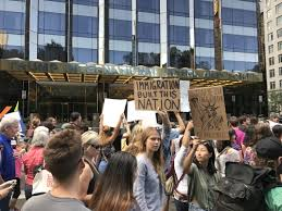 photo essay daca protest in columbus circle • fordham observer photo essay daca protest in columbus circle
