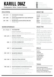 100 Sample Resume For Photographer How To Prepare Your