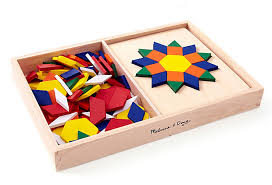 Melissa And Doug Pattern Blocks