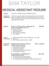 Medical Assistant Description For Resume Mwb Online Co
